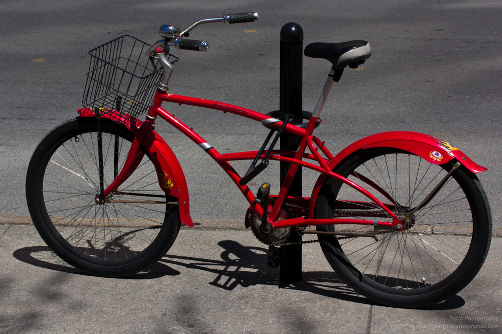 photoblog image Red Bike