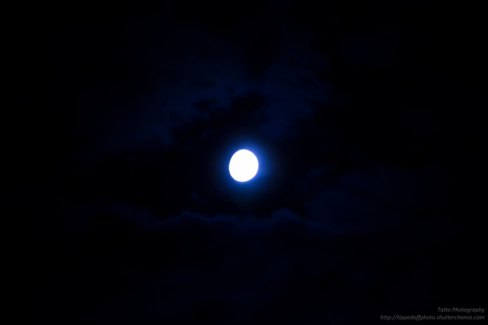 photoblog image Once in a Blue Moon